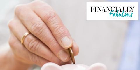 Piggy bank, Saving, Money handling, Money, Coin, Hand, Currency,