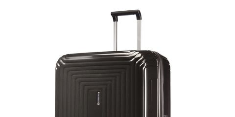 Suitcase, Hand luggage, Luggage and bags, Bag, Baggage, Rolling, Wheel, Silver, Metal,