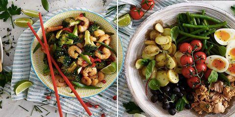 Dish, Food, Cuisine, Ingredient, Meal, Salad, Lunch, Vegetable, Vegan nutrition, Produce,