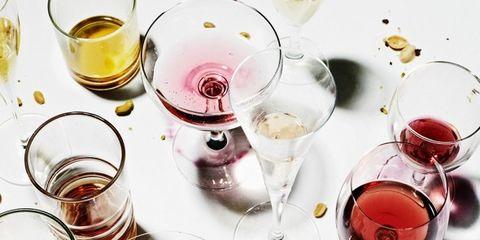 Drink, Wine glass, Drinkware, Stemware, Tableware, Red wine, Wine, Chinese herb tea, Wine cocktail, Distilled beverage,