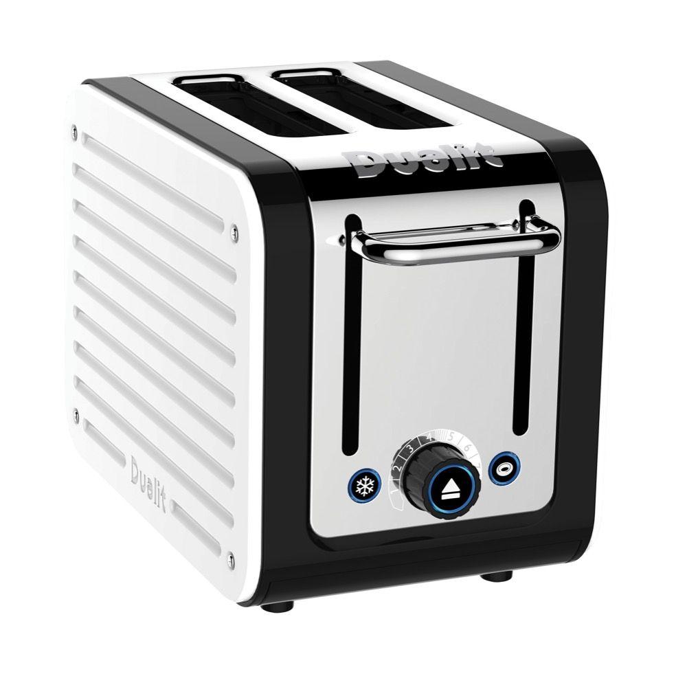 Dualit Studio 4 Slice Toaster, Black at John Lewis & Partners
