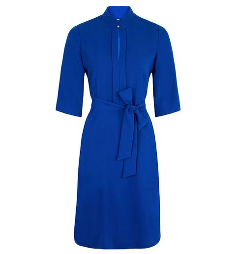 8a999a9cab5 Hobbs blue Lois Dress - The blue Hobbs Lois Dress is the brand's ...