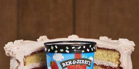 Ben Jerrys Newest Ice Cream Is Birthday Cake Flavour