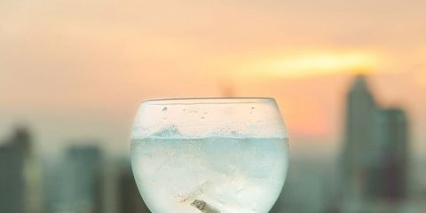 Stemware, Glass, Drink, Wine glass, Champagne stemware, Drinkware, Alcoholic beverage, Water, Distilled beverage, Cocktail,