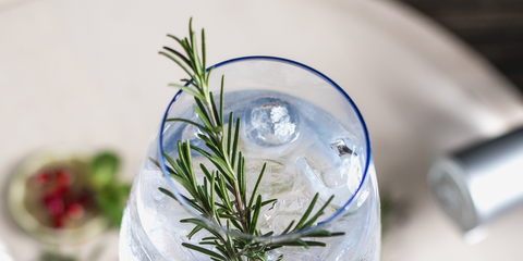 Rosemary, Herb, Plant, Ingredient, Garnish, Dill, Flower, Glass,