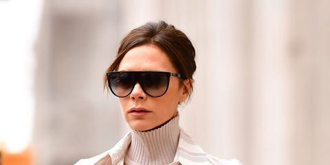 c708f34b3b Victoria Beckham looked incredibly chic while celebrating her son Brooklyn  Beckham s 19th birthday.