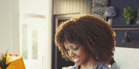 Hair, Hairstyle, Beauty, Fashion design, Room, Plant, Photography, Floral design, Afro, Flower,