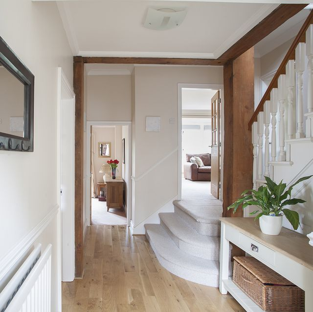 how to organise and declutter your hallway