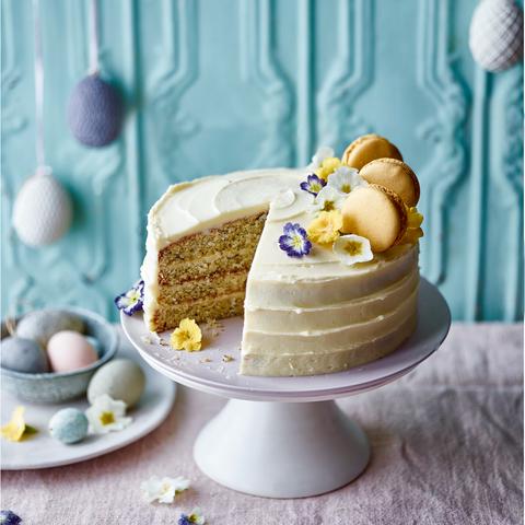Astonishing Cake Recipes Earl Grey Lemon And Poppy Seed Celebration Cake Personalised Birthday Cards Beptaeletsinfo