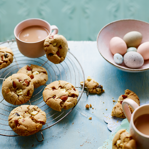 best biscuit and cookie recipes simnel and white chocolate cookies