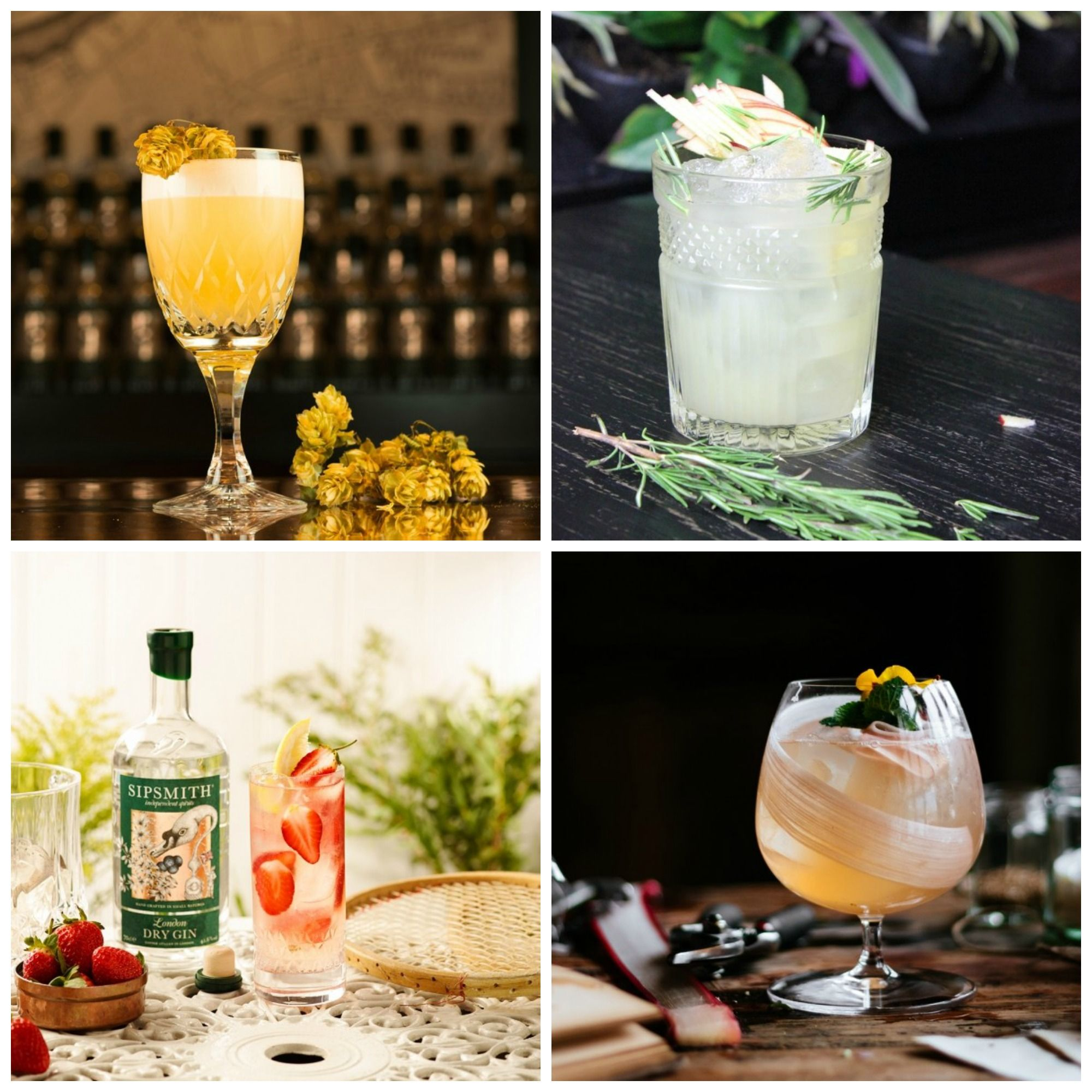 Gin Cocktails Best Gin Cocktail Recipes And Ideas Good Housekeeping