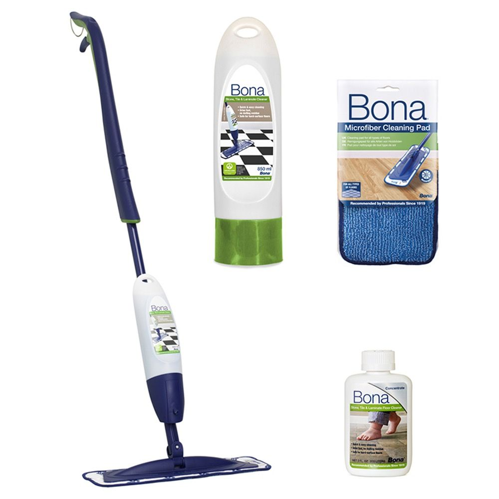 Bona Stone Tile And Laminate Spray Mop Review
