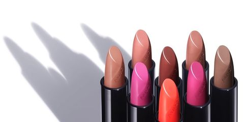 Lipstick, Cosmetics, Pink, Red, Purple, Lip, Material property, Magenta, Tints and shades,