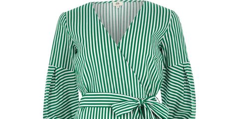 Clothing, Day dress, Green, Robe, Sleeve, Dress, Turquoise, Nightwear, Teal, Outerwear,