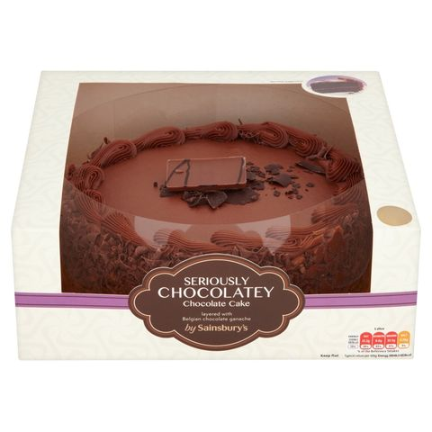 1 Sainsburys Seriously Chocolatey Chocolate Cake