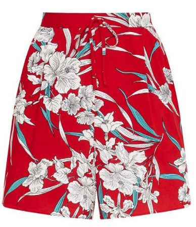 552f375a78 BUY NOW: Tesco F&F Floral Print Pleat Front Shorts, ...