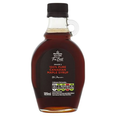 9 Morrisons The Best Grade 2 100 Pure Canadian Maple Syrup