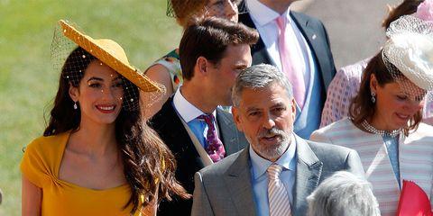 Amal Clooney Royal Wedding.Royal Wedding Amal Clooney Wears Stella Mccartney