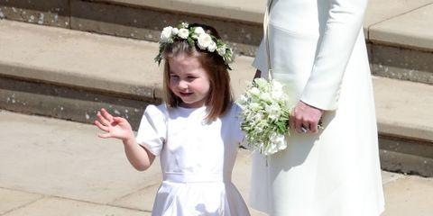 Child, White, Clothing, Dress, Ceremony, Smile, Flower,