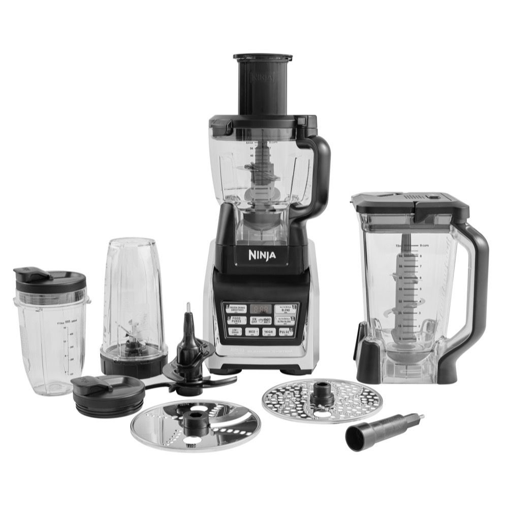 Ninja Complete Food Processor with Auto-iQ and Nutri ...