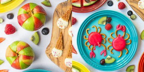 Food, Dishware, Plate, Cuisine, Dish, Food group, Fruit, Tableware, Produce,