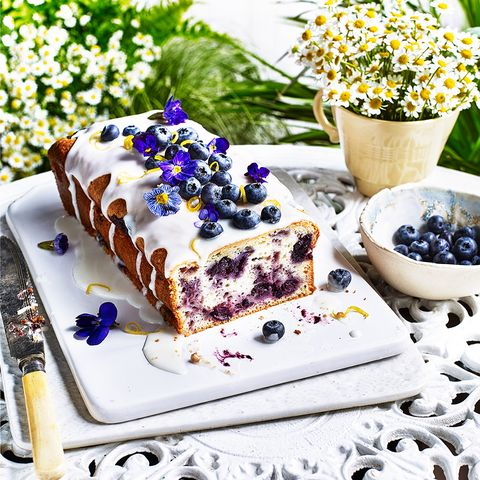 Food, Dish, Dessert, Cuisine, Cake, Berry, Frozen dessert, Baked goods, Ingredient, Blueberry,