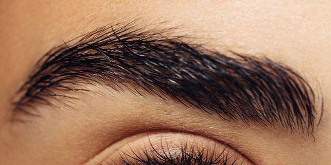 Eyebrow, Face, Eye, Eyelash, Close-up, Iris, Skin, Organ, Blue, Beauty,