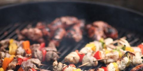 Food, Barbecue, Cuisine, Barbecue grill, Grilling, Dish, Outdoor grill, Grillades, Cooking, Shashlik,