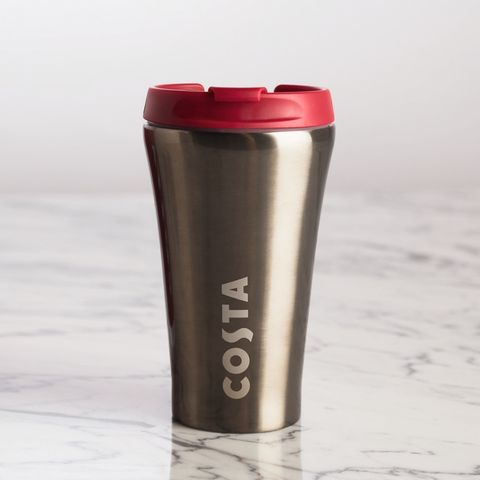 costa stainless steel travel mug review