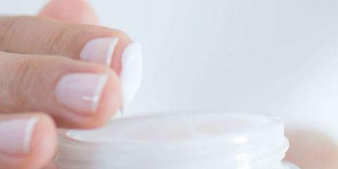 Skin, Product, Head, Plastic bottle, Hand, Cream, Nail, Skin care, Finger, Plastic,