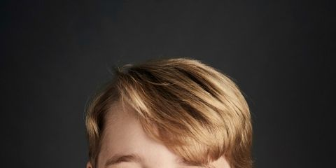 Face, Child, Facial expression, Chin, Hairstyle, Smile, Cheek, Forehead, Child model, Toddler,