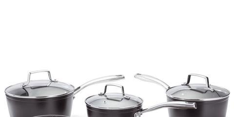 Cookware and bakeware, Sauté pan, Product, Frying pan, Lid, Saucepan, Stock pot, Dutch oven, Metal,
