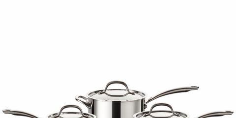Cookware and bakeware, Stock pot, Serveware, Saucepan, Metal,