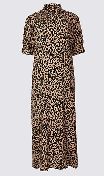 c3935d0a2124 Christine Lampard's M&S leopard print dress is finally in stock