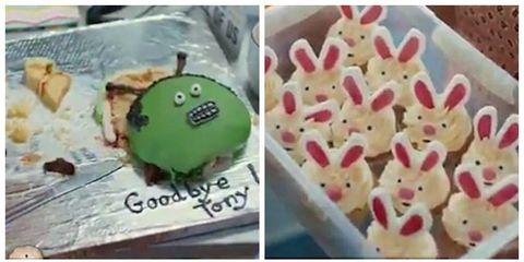 Cake decorating, Buttercream, Food, Baking, Dessert,