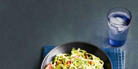 best courgette recipes courgetti carbonara
