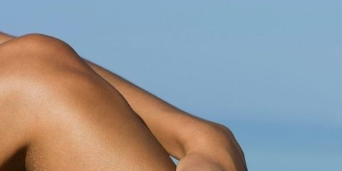 Skin, Human leg, Sun tanning, Tan, Thigh, Arm, Leg, Beauty, Joint, Hand,