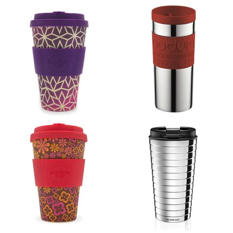 best travel mugs reusable coffee cups
