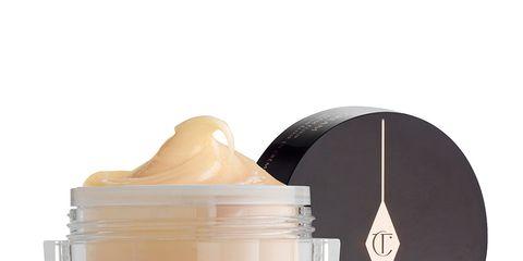 Product, Cream, Beige, Cream, Skin care, Cosmetics, Hand, Liquid,