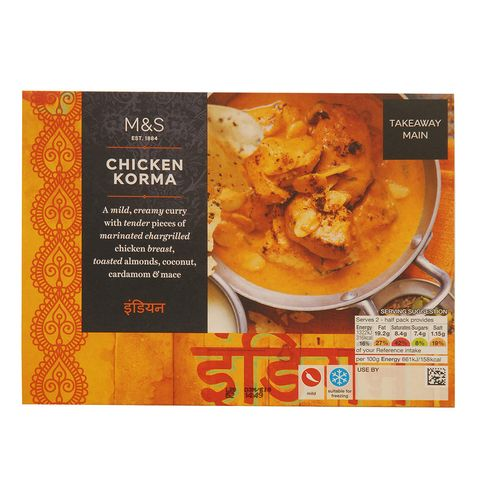 Chicken Korma Ready Meal Review Good Housekeeping