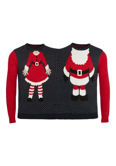 cebe91d1a4b F F at Tesco is releasing two-person Christmas jumpers