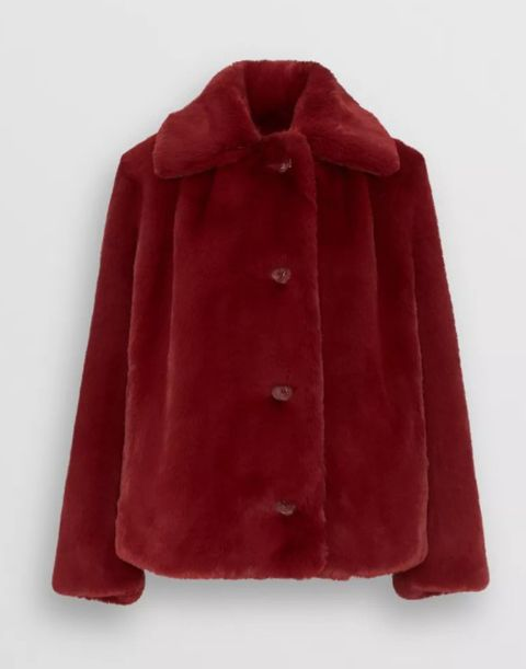 532987640459f Of course, there are some notable differences – for one thing, the Asda  coat doesn't boast button detailing. But we're still tempted!