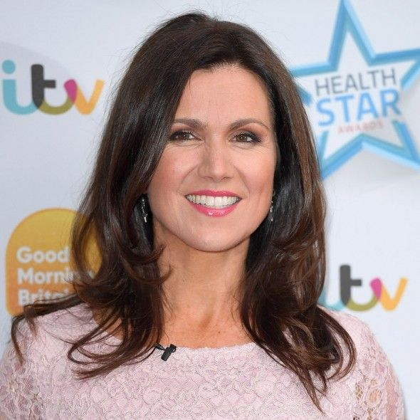 Susanna Reid looks so chic in Ted Baker midi dress on Good Morning Britain