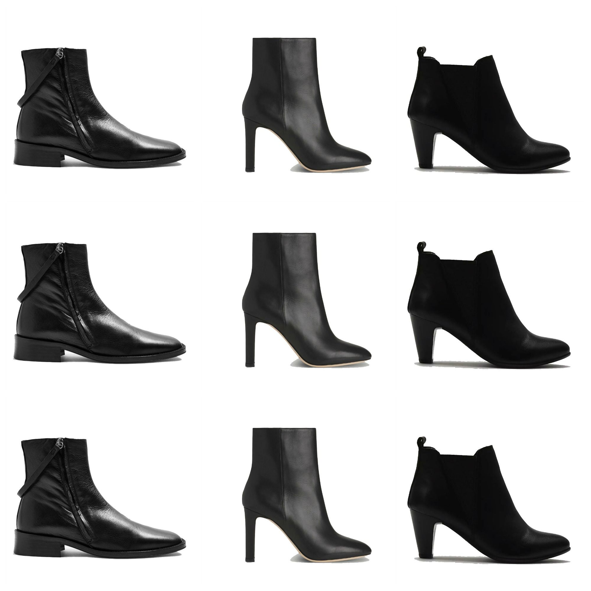e233c353f8d 15 of the best black leather ankle boots to buy now
