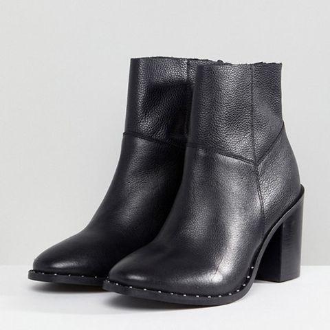 d745d3354 BUY NOW: ASOS Design Wide Fit Envy Leather Ankle Boots, ...