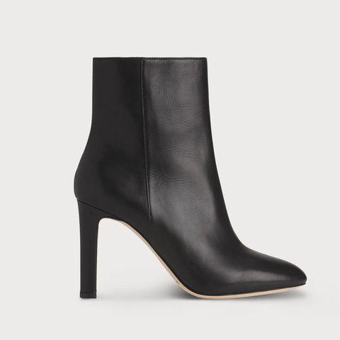 61c49de88 BUY NOW: L.K. Bennett Edelle Black Leather Ankle Boots (£295)