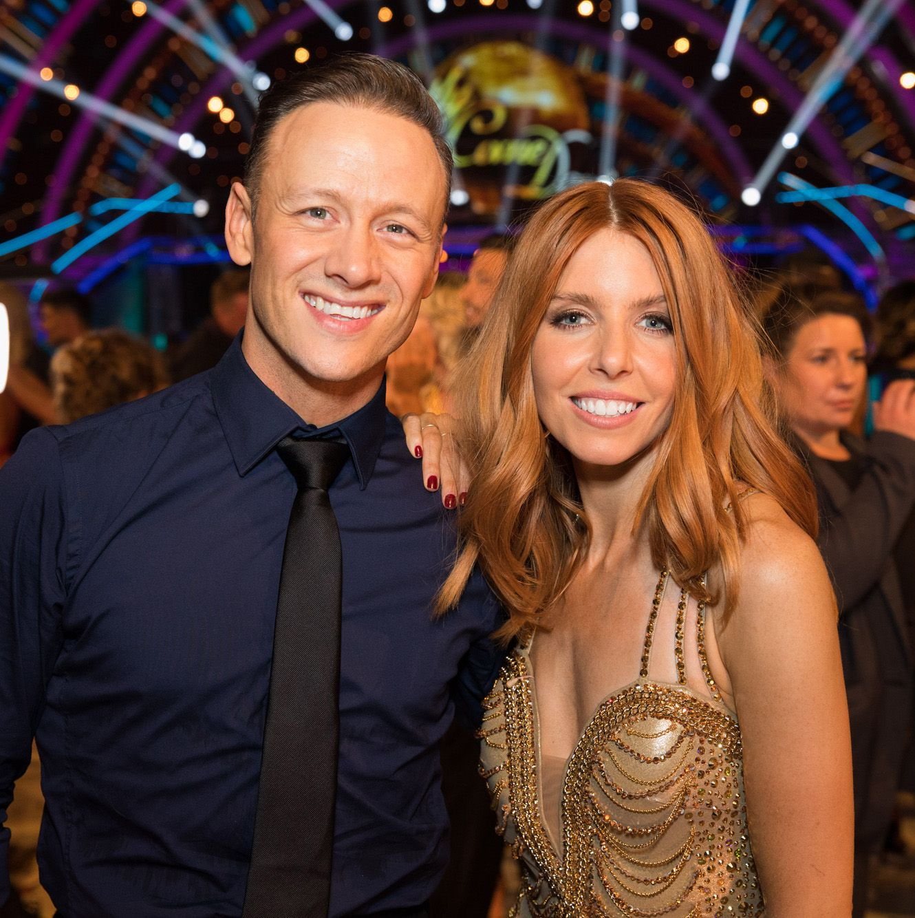 Kevin Clifton shares rare picture with Stacey Dooley