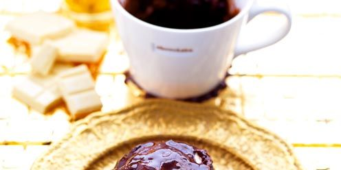 3 Minute Microwave Chocolate Pudding