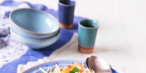 Salad, Dishware, Food, Tableware, Serveware, Produce, Cuisine, Ingredient, Vegetable, Drinkware,