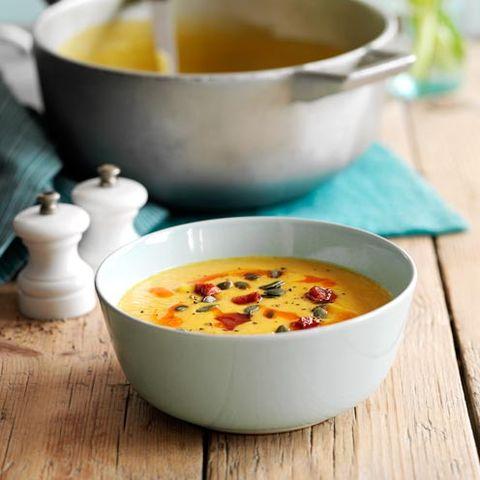 Serveware, Food, Cuisine, Ingredient, Dish, Dishware, Soup, Tableware, Recipe, Bowl,